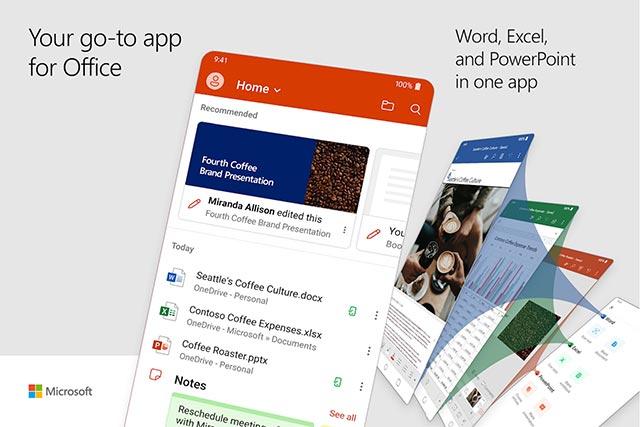 Microsoft chính thức phát hành ứng dụng Office hợp nhất cho người dùng Android