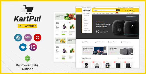 Chia sẻ theme KartPul – Multipurpose WooCommerce Theme