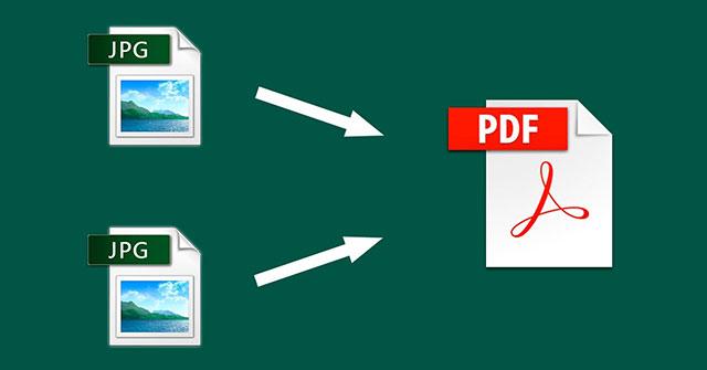 Hướng dẫn ghép nhiều ảnh thành một file pdf trên windows