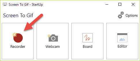 Phần mềm Screen to Gif tạo ảnh GIF (động) từ màn hình (screen)